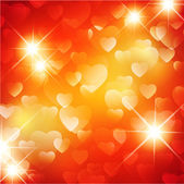 Heart for Valentines Day Background — Stock Vector