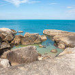 Stock Photo: Grandmother and Grandfather Rocks place on Lamai beach Samui isl