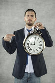 This is the time — Stock Photo