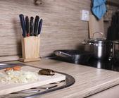 Cockroach on kitchen — Foto de Stock