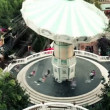Carousel in Tibidabo Park — Stock Video