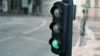 Traffic lights — Stock Video