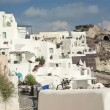 Stock Video: Classic Santorini architecture