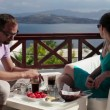 Bored couple during breakfast — Stock Video #40602885