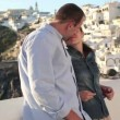 Couple on honeymoon — Stok Video #40604923