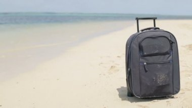 Travel valise — Stock Video