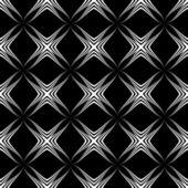 Geometric monochrome seamless pattern — Stock Vector