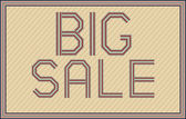 Big Sale — Vecteur