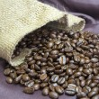 Stock Photo: Coffee Beans Bag