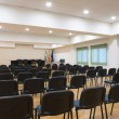 Table and chairs in meeting room — Stock Photo