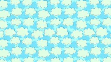 Cloud-drift — Stock Video