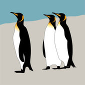 Penguins — Vector de stock