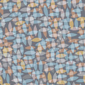 Pattern of leaves — Stock Vector