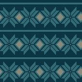 Gebreide patroon — Stockvector