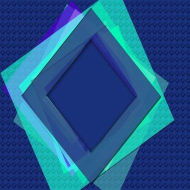 Diamond shape background