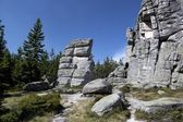 Group of rocks in Karkonosze — Foto Stock
