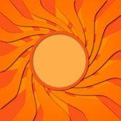 Orange vortex — Stock Photo