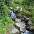 Stock Photo: Small waterfall