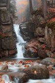 Podgornej cascada en las montañas gigantes, polonia — Foto de Stock