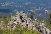 Group of rocks in KArkonosze — Stock Photo