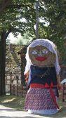 Polish folk costume — Stock Photo