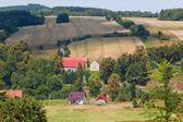 Beautiful village in the summer — Stock fotografie