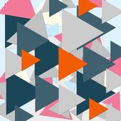 Triangle abstrait fond géométrique — Photo