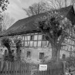 Stock Photo: Abandoned Timbered House