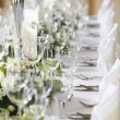 Wedding table — Stock Photo #37257771