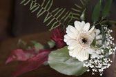 Gerbera Church decoration — Stock Photo