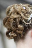Bridal hair style — Stock Photo