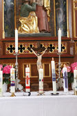Altar in the church — Stock Photo