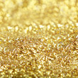 Stock Photo: Golden Glitter