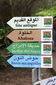 Botanical garden in Rabat — Stock Photo