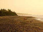 восход солнца на пляже — Стоковое фото