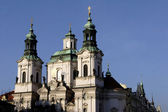 St Nicholas Church in Prague — Stockfoto