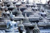 Several posture of Buddha statuary — Stock Photo