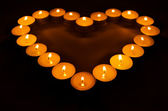 Queima de velas. — Fotografia Stock