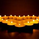 Burning candles. — Stock Photo #39569349