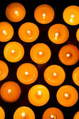 Burning candles. — Stock Photo