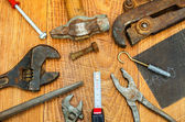 Old tools. — Stock Photo