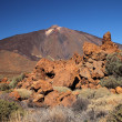 Stock Photo: View of volcano Mount Teide, in Teide National Park