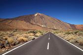 Valley of volcano Teide, Tenerife, Spain — Stock Photo