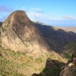 Mountain landscape of the island of La Gomera. Canary Islands. Spain — Stock Photo #45526585