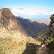 Mountain landscape of the island of La Gomera. Canary Islands. Spain — Stock Photo #45526653