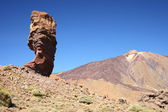 Teide National Park Roques de Garcia in Tenerife at Canary Islands — Stock Photo
