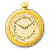 Retro clock — Stockvektor