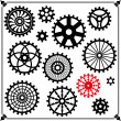Vector de stock : The gears