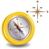 Compasso d'oro — Vettoriale Stock
