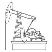 масляный насос — Cтоковый вектор